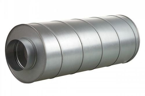 Расположение шумоглушителей в системе вентиляции